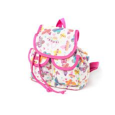 Kids Glitter Butterfly Mini Backpack