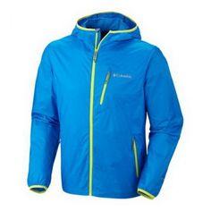 COLUMBIA Mens Trail Drier Windbreaker Jacket