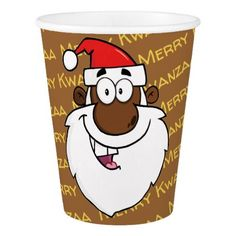 Personalized nativity gift under 5 jesus angels votive candle african american santa christmas kwanzaa greetings paper cup negle Images