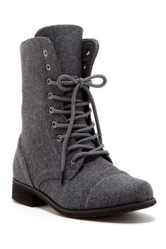 Carrini Lace-Up Boot