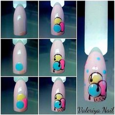 57 Ideas for nails art estive tutorial Diy Nails Tutorial, Nail Tutorials, Nail Art Disney, Nail Art Dessin, Ice Cream Nails, Fruit Nail Art, Romantic Nails, Nail Art Techniques, Nails For Kids