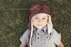 AVIATOR Pilot Hat w/ Faux Goggles Toddler by LeightonHeritage, $22.99