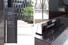 Signage & Wayfinding - Bakrie Tower