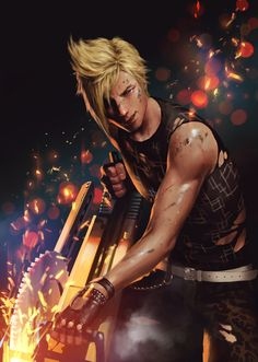 Final Fantasy XV - Prompto Argentum by Penguinfrontier