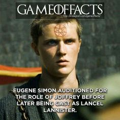 Eugene Simon Lancel Lannister