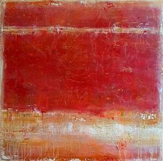 """Buy """"Rustic Reds"""" large 36""""x36"""", Acrylic painting by Laura Spring on Artfinder. Discover thousands of other original paintings, prints, sculptures and photography from independent artists."""