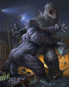 King Kong vs Godzilla - Jaroslav Kosmina