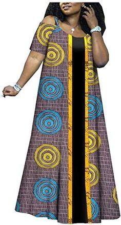 private afripride African Long Maxi Dresses for Women Dashiki Clothing Ankara Fabric Print Wax Batik Best African Dresses, Latest African Fashion Dresses, African Print Dresses, African Attire, African Print Fashion, Asian Fashion, Fashion Women, Girl Fashion, African Fashion Traditional