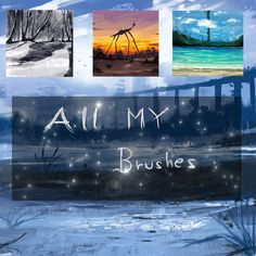 ALL MY BRUSHES by ryky.deviantart.com on @DeviantArt