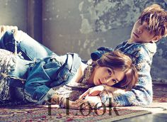 SNSD Tiffany and Lee Chul Woo - 1st Look Magazine Vol.90