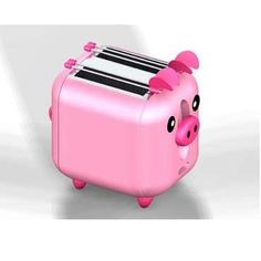 Omg a pink piggy toaster! Eeeeeee shut up and take my money!