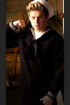 Sailor Nialler for the Kiss You videoooo