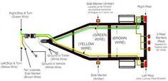 4-way plug trailer diagram