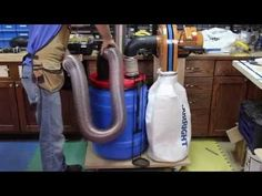 "Dust Right® 4"" Dust Separator Components 