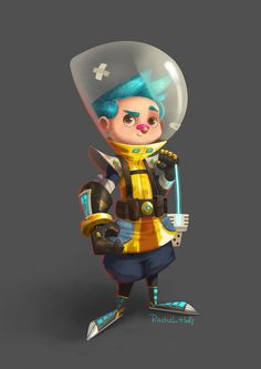 """Check out this @Behance project: """"Fynn the Fixer"""" https://www.behance.net/gallery/53328251/Fynn-the-Fixer"""