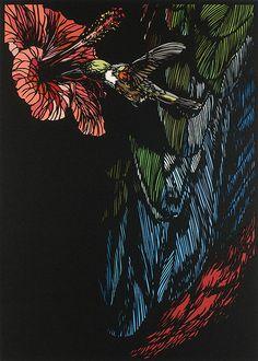 paper cut out art by Risa FUKUI, Japan