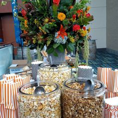 Popcorn bar anyone? #cateringworks #bluegrassfestival
