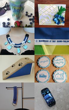 Blueberry Season by Michele on Etsy--Pinned with TreasuryPin.com