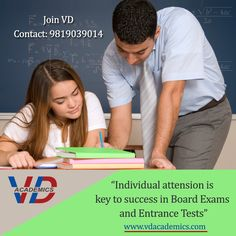 Personalized #coaching ensures better results!!!!! Students can get complete personal attention and individual guidance for their #board #exam preparation and #entrance exams. #vdacademics #IITJEE #MHCET #HSC #SSC