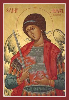 St. Michael Archangel #orthodox #icon