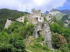 Burgruine Rabenstein (Virgen) - Tyrol, Austria