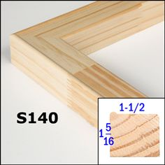 "Stretcher bar KIT 20x30/""  frame ALL U NEED"