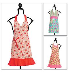 i wish i could make cute aprons like this...if only i knew how to sew