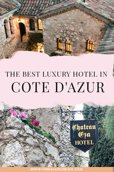 Looking for a luxury vacation in Cote D'azur? If you're visiting the French riviera soon, this luxury hotel is a must for a romantic getaway in France! Unique Hotels, Beautiful Hotels, Best Hotels, Luxury Hotels, Visit France, South Of France, Thing 1, Romantic Getaway, French Riviera