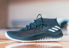 superior quality 61101 5ec81 2018 New adidas Dame 4 adidas Hoops Unveils The Static And Rose City  Editions Of The DAME 4 Basketball Shoe For Sale