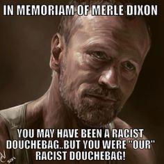 Walking Dead Merle Dixon zombies LOL meme