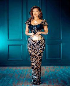 Nigerian Lace Styles, Aso Ebi Lace Styles, African Lace Styles, Lace Dress Styles, Nigerian Dress, Kente Styles, African Wear Dresses, Latest African Fashion Dresses, African Print Fashion