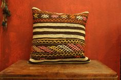 20 x 20 Throw Pillow Decorative Pillow Accent by kilimwarehouse, $38.00