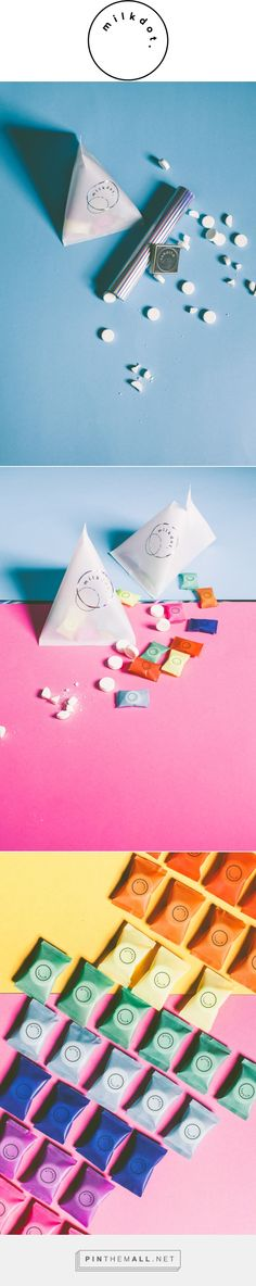 milkdot. on Behance by Daniel Faro curated by Packaging Diva PD. Packaging…