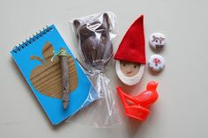 WhiMSy love: Woodland Gnome Birthday Party!! gift bags #gnomemade