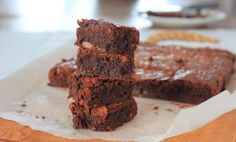 Seig brownies | Oppskrift | EXTRA - Beste Brownies, Sweets, Desserts, Yum Yum, Food, Cakes, Sweet Pastries, Meal, Gummi Candy