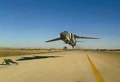 The Aviationist » Cool photograph of a head-on ultra-low level flying Mig-23 Flogger