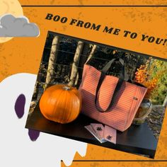 I wish you all a happy and safe Halloween! 🧡🎃 Can Design, Design Your Own, Halloween Treats, Halloween Decorations, Autumn Day, Carry On, Bag Accessories, Diaper Bag, Pumpkin
