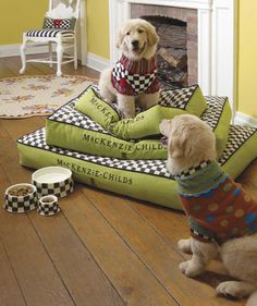 I Love This Mackenzie Childs Pet Beds