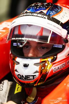 Jules Bianchi´s Canada GP helmet.