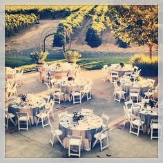 Can't wait to be out here next fall :) Most romantic place to say I do. Harvest Inn hotel and vineyard.