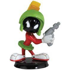 Looney Tunes Marvin The Martian Mini Bobble Head Doll Figurine 2012 New Unused | eBay