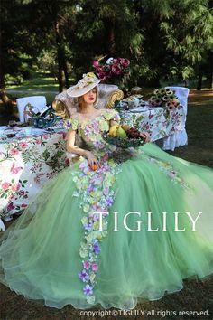TIGLILY COLLECTION OF PANDORA(ティグリリィ・コレクション・オブ・パンドラ) - TIGLILY(ティグリリィ) - ウエディングドレス、カラードレス