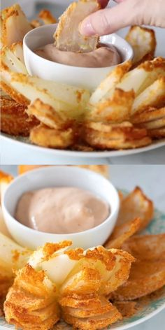 Copycat Blooming Onion A low carb and low calorie blooming onion copycat!A low carb and low calorie blooming onion copycat! Snacks Für Party, Keto Snacks, Carb Free Snacks, Diabetic Snacks, Yummy Snacks, Ketogenic Recipes, Low Carb Recipes, Gluten Free Baking Recipes, Air Fryer Recipes Keto
