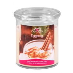 Make the holidays merry with this delicious Christmas tradition! Light vanilla cream is blended with sugar, nutmeg, and cinnamon, and served with a dash of fruity rum and a cinnamon stick. Delicious hot or cold!     Your adjustable bangle with charm will come packaged in a suedette pouch alongside your candle.  Premium 2 wick, 21oz scented candle  Infused with natural essential oils.  100% all natural Soy wax   Burns for 100+ hours.
