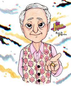 """""""… entonces… Luna es Sol""""☀ Aaaah amé ésta escena, Tino y Cato, bien!!! Alfredo (Roberto Carnaghi), el abuelo postizo de Luna Valente ya sabe que es el abuelo de Sol Benson (Luna) pero Sharon vió todo y sabe que el sabe también y hará de..."""