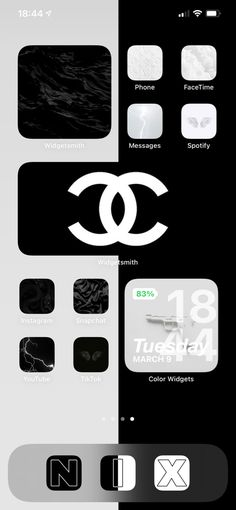 Black & White IOS 14 Aesthetic