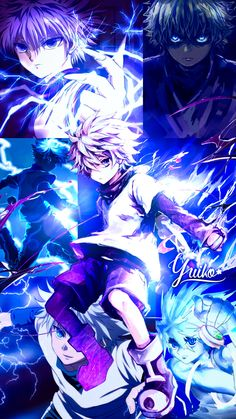 Killua wallpaper by Yui-Yuiko - Hunter x Hunter Hunter X Hunter, Hunter Anime, Monster Hunter, Otaku Anime, Anime Manga, Anime Art, Cute Anime Boy, Anime Guys, Mobile Legend Wallpaper