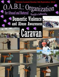 Domestic Violence and Abuse Awareness Caravan Launch Sunday September, 2012 Monthly Magazine, Domestic Violence, Product Launch, Organization, Reading, Getting Organized, Organisation, Tejidos, Reading Books