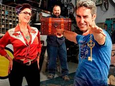 American Pickers. American Pickers, Just Love, Christmas Sweaters, Tv Shows, Guys, Fashion, Actresses, Moda, Fashion Styles