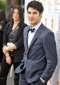 Blue suits are HOT. Darren modeling it is just a bonus. A very delicious bonus. sigh.